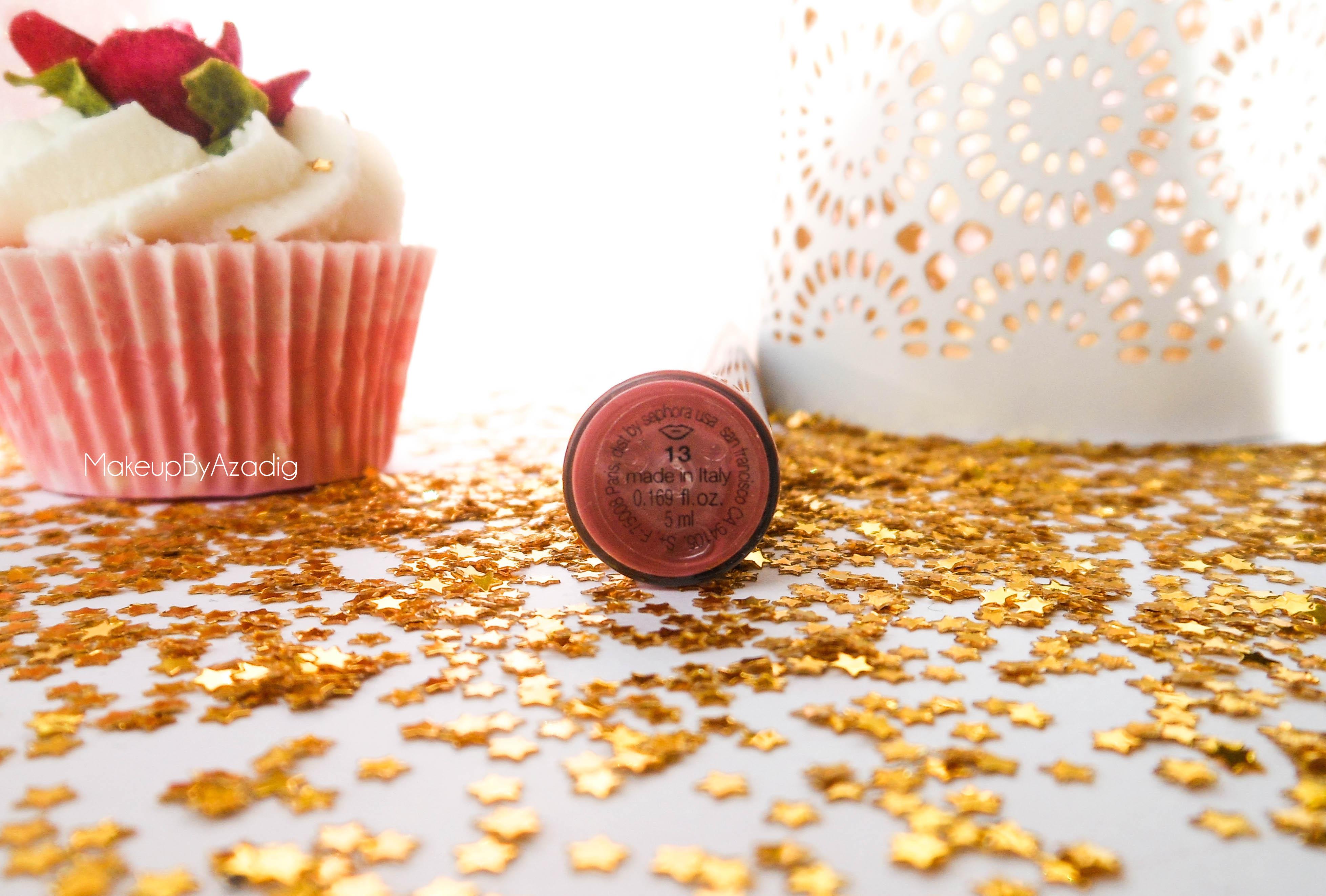 rouge velouté sans transfert - sephora - rouge à lèvres mat - longue tenue - makeupbyazadig - couleur