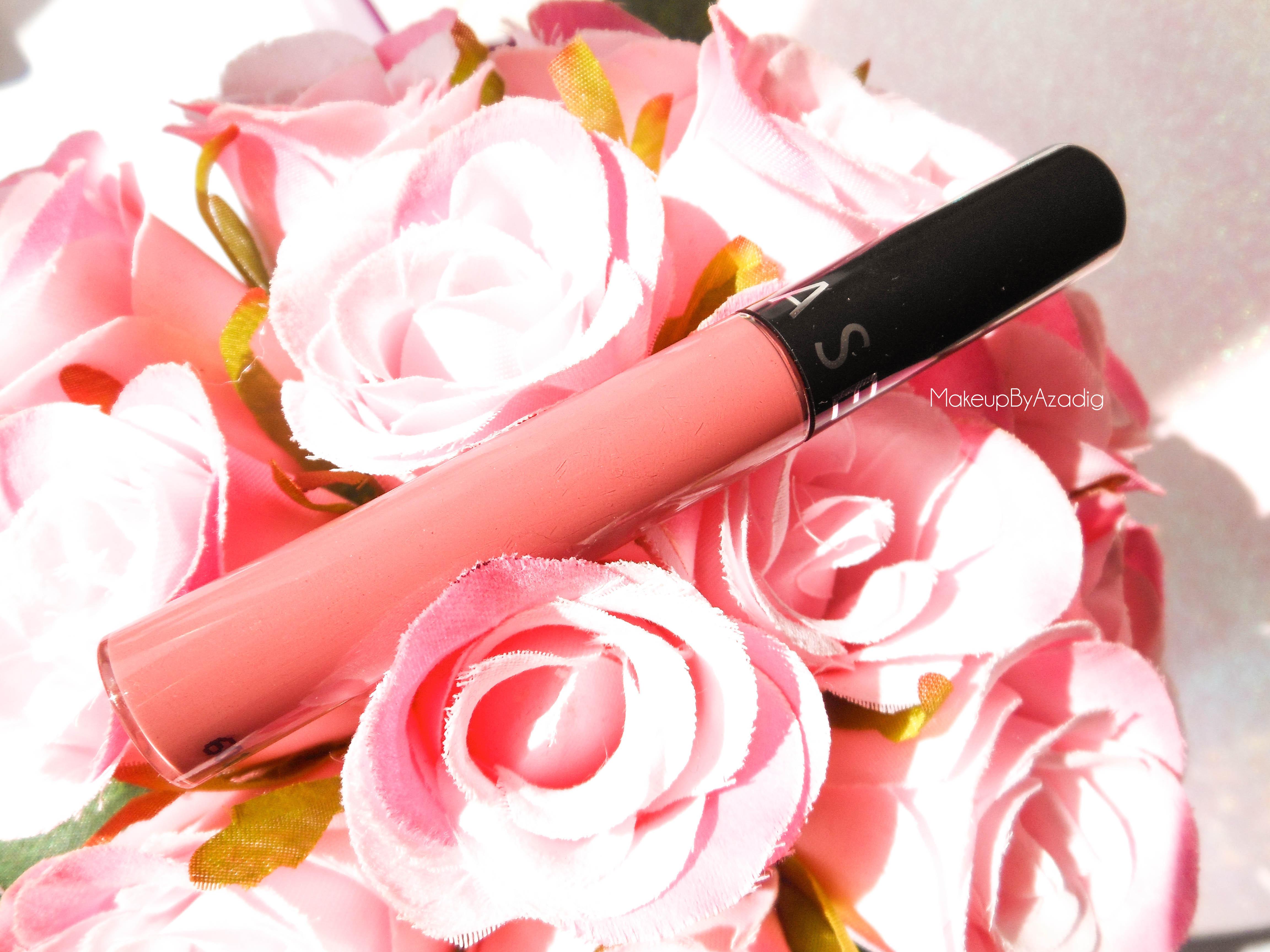 rouge velouté sans transfert - sephora - rouge à lèvres mat - longue tenue - makeupbyazadig - rose